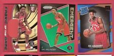 OG ANUNOBY ROOKIE JERSEY CARD + PRIZM EMERGENT REFEACTOR RC CARD+ RATED RC IU