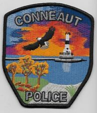 Lighthouse Conneaut Police State Ohio OH Colorful