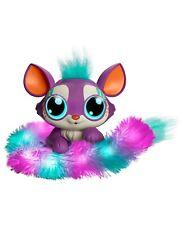 Mattel Lil' Gleemerz Loomur Figure NEW Purple with Rainbow Tail - Damaged Box