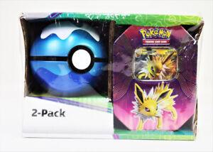 Pokémon Ball And Tin 2 Pack Jolteon