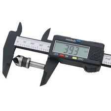 1STK Bequem LCD Vernier Sattel Digitales Elektronisches Carbon-faser   HOT