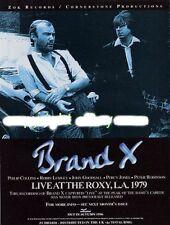 Brand X Phil Collins Genesis 'Mojo' mag advert