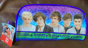 ~2013 1D Music Boy Band Group One Direction pencil pouch case carry bag NEW