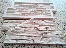 STAMPO calco per gesso cemento finta pietra rivestimento muro VENEER STONE MOLD