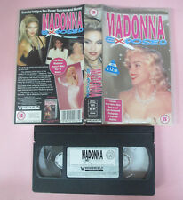 VHS MADONNA Exposed 1993 WIENERWORLD WNR 2036 Michael Jackson (VM11)no mc dvd lp
