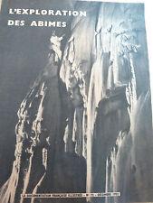 LA DOCUMENTATION FRANCAISE ILLUSTREE N° 72   1952 L'Exploration des abimes
