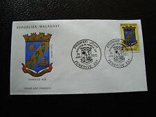 MADAGASCAR sobre 25/1/72 capa de brazos fenerive este yt nº 497 cy4 R