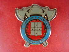 pins pin pompier fire tourcoing