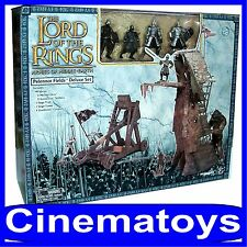 LOTR LORD OF THE RINGS PELENNOR FIELDS DELUXE SET action figures and accessories