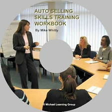 Auto Sales Training - Selling SkillsTraining Workbook eBook on CD