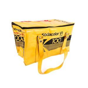 Vintage Kodak Colour Film Camera Insulated Cool Cooler Cold Bag KODACOLOR VR10