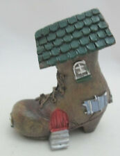 Fairy Garden Tiny Treasure Woodland Fairy Tale Old Woman in Shoe House