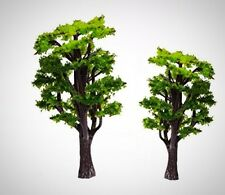 WINOMO 12pcs Model Trees Train Railways Architecture Landscape Scenery Decor New
