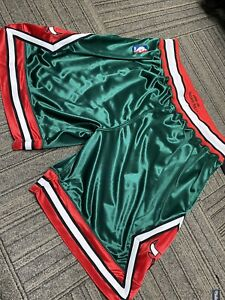 2008-09 Mitchell & Ness Chicago Bulls Green Week Authentic Shorts - Size XL -