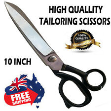 10'' Tailor Dressmaking Sewing Cutting Trimming Scissor Shears Fabric scissors