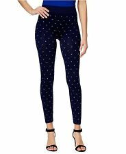 NWT First Looks Women's Seamless Full-Length Legging Jacquard Dot Size L/XL
