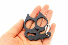 PERSONALITY CLASSIC  black Cat Key Chain Personal self defense Keyrings GIFT DDF