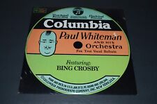 Paul Whiteman & His Orchestra Featuring Bing Crosby~1968 Jazz Swing~FAST SHIP