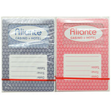 Casino Playing Cards - Aliante 2 New Decks Poker Size Jumbo Index *