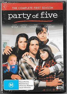 Party of Five: Season 1 DVD (Australian Release)NEW Region 4 Free Post