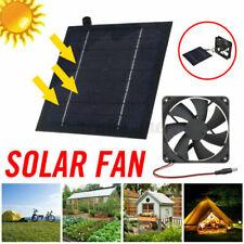 20W 6V Solarlüfter Solar Fan Ventilator Lüfter Solarventilator Gewächshaus