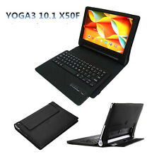 Removable Bluetooth Keyboard Folio Cover Case For Lenovo Yoga3 10.1 Tablet-X50F
