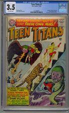 TEEN TITANS #1 CGC 3.5 1966