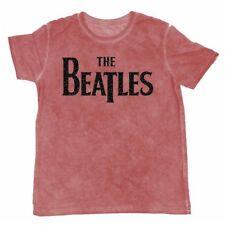 BEATLES T-Shirt Drop T burn out Taglia S OFFICIAL MERCHANDISE