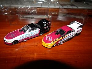 Tim Wilkerson's Levy, Ray & Shoup 1/43 Scale Funny Cars 20902P & 18156P -By ERTL