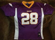 Adrian Peterson jersey! Minnesota Vikings youth XL NFL vintage throwback