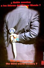 WHO ASSASSINATES  3RD WORLD LEADERS? -  ENRIGUEZ - CUBA OSPAAAL - RARE ORIGINAL