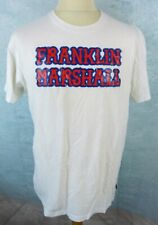 FRANKLIN MARSHALL Tee shirt Homme Taille XL - Manches courtes - Blanc