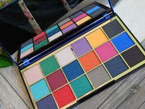 Makeup Revolution Wild Animal Integrity 18 Shades Eyeshadow Palette, Rainbow 🌈