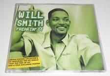 WILL SMITH - FREAKIN' IT - 2000 UK 3 TRACK CD SINGLE