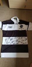 Signed Barbarians Rugby V All Blacks 2009 shirt jersey