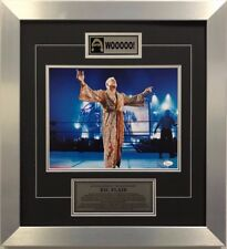 WWE Hall of Fame Superstar Ric Flair Signed Framed 22x20 Authenticated w/ COA