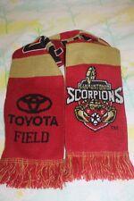 San Antonio Scorpions FC Scarf Ruffneck Scarves NASL USL MLS Rare