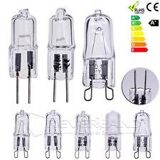 10x G4 G9 10/20/25/40/50W Ampoule Halogène Verre Bulb Lampe Blanc Chaud 12V/230V
