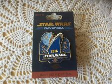 Disney Cruise Line Star Wars Day at Sea 2016 Limited Edition Pin.  New on Card.