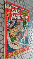 SUB-MARINER #51 MARVEL  PRINCE  BYRRAH PICTURE FRAME COVER EVERETT ART  ! NICE