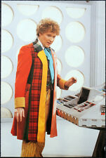 DOCTOR WHO POSTER . COLIN BAKER & TARDIS INTERIOR - THE TWIN DILEMMA . P26