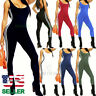 Women Jumpsuit Romper Bodycon Playsuit Leggings Trousers Pants Active Wear Yoga