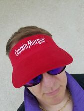 Captain Morgan Visor Cap Retro Hat Collectible