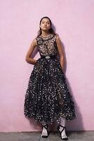 Giambattista Valli X H&M HM Long Ball Dress Embroidery UK8 / US4 / EUR 36 New