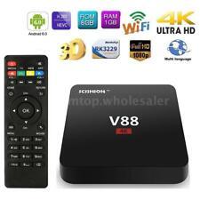 V88 Android 7.1 Smart TV Box Quad Core 4K 8G Mini PC WiFi HD Media Player C5O1