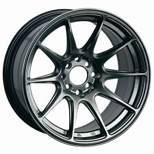 XXR 527 17x7.5 4x100/114.3MM +40 Chromium Black Fits Corolla Golf Passat Cabrio