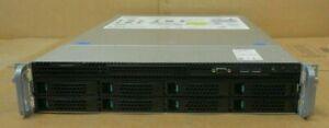 "Intel R2308WTTYS SR2308 2x 12-Core E5-2690v3 2.60GHz 512GB 8x 3.5"" Bay 2U Server"