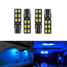 G4 AUTOMOTIVE 4x T10 192 LED Bulbs 2835 High Bright Width DRL Blue Side Light