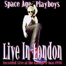 Space Age Playboys(CD Album)Live In London-Dreamcatcher-CRIDE18-UK-1999-New