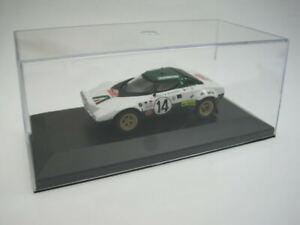 Uh Del prado Lancia HF Stratos Munari Rally Monte Carlo 1975 1/43 cochesaescala